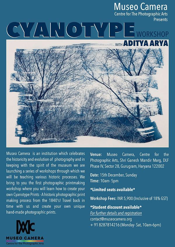 Cyanotype Workshop by Aditya Arya Photgraphy Museum Gurgaon