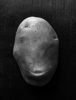 Portrait of a Potato: Potato on a couch - The lockdown effect - Sanjay Nainwal