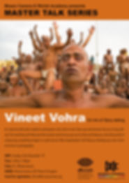Master talk series Vineet Vohra at Museo Camera museum gurgaon