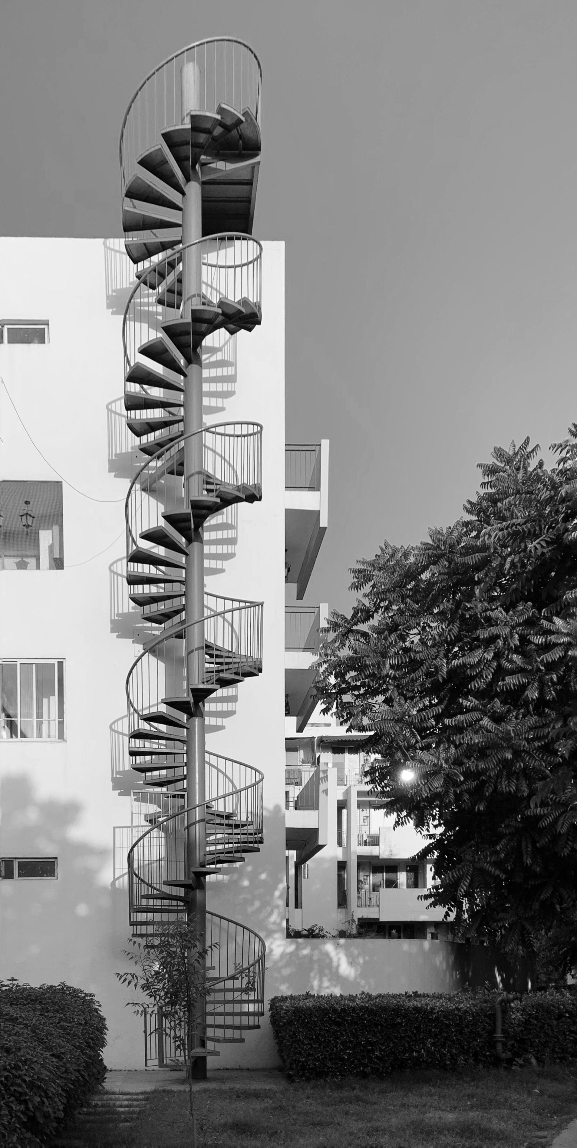 Spiral Staircase - Rajan Bhatt
