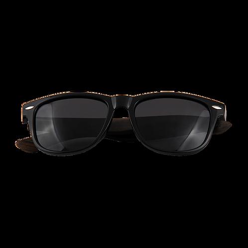 Real Ebony Wood Wanderer Sunglasses by WUDN