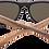 Thumbnail: Real Ebony Wood Wanderer Sunglasses by WUDN