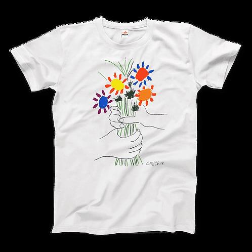 Pablo Picasso Bouquet of Peace 1958 Artwork T-Shirt