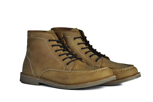 The Cooper   Crazy Horse Tan Leather