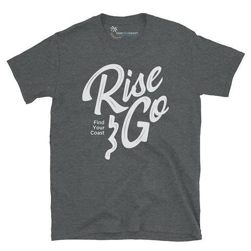 Men's Supply Co. Rise and Go Short-Sleeve Dark Heather Tee