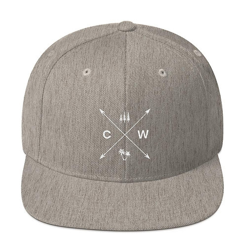 Tree Cross Snapback Hat