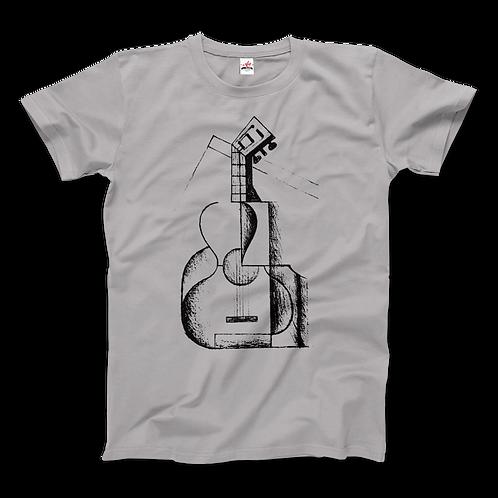 Juan Gris the Guitar 1912 Artwork T-Shirt