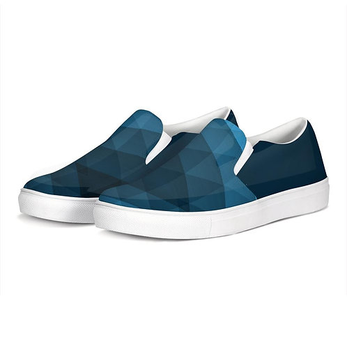 FYC Blue Venturer Canvas Slip-On Casual Shoes