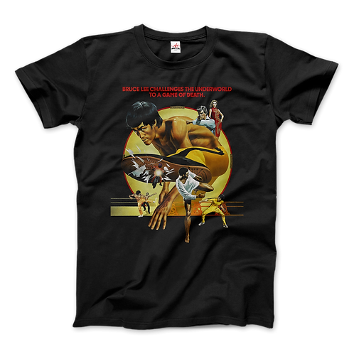 Bruce Lee Game of Death 1978 Movie T-Shirt