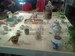 La table multisensorielle.