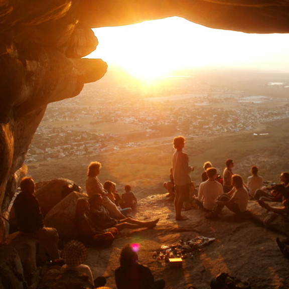 Summer Solstice Sunset Ancestral Pilgrimage to Ascension Cave