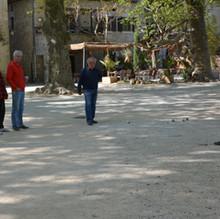 Petanque in de Ardèche