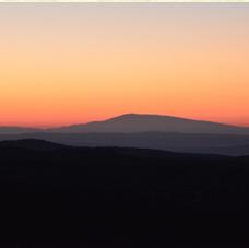uitzicht op Mont Ventoux