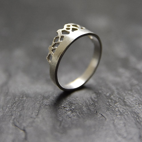Ring - Princess - Sterling Silver