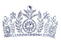 NEW NATIONAL CROWN SILVER AUSTIAN CRYSTA