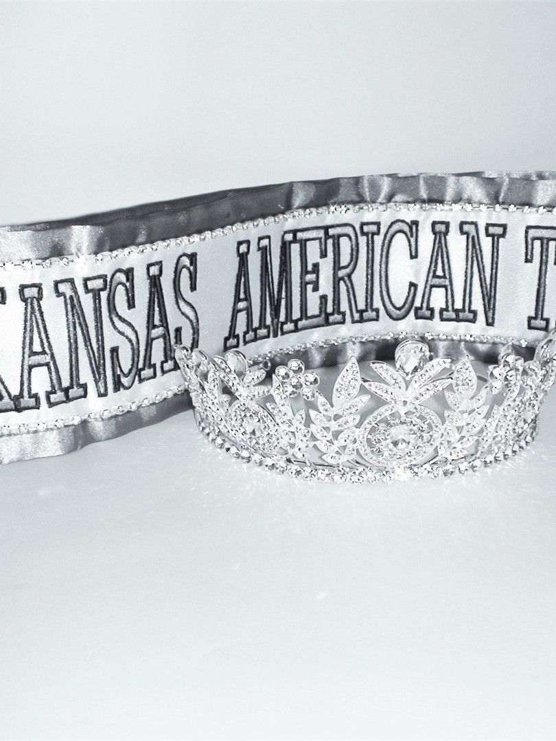 Optional Crown and Custom Sash