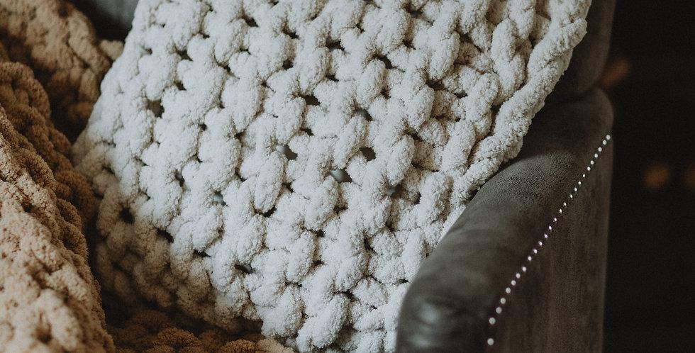 chunky knit chenille cushions