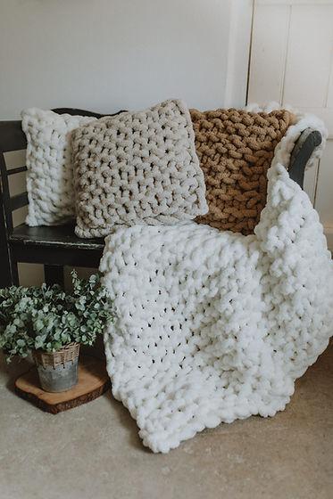 chunky knit cushions & throw.jpg