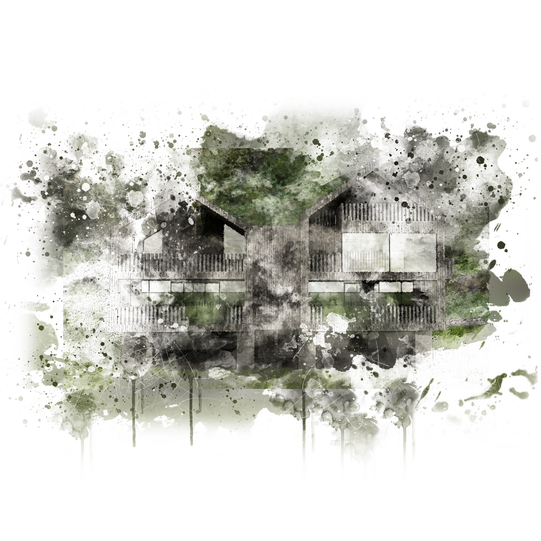 wohnbau im grünen