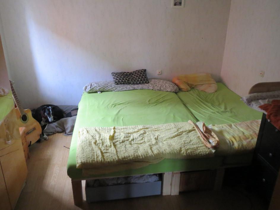 Ein Bett für die ganze Familie