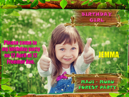 How to give a great kids birthday party for just £25.00 …by thinking like a film producer