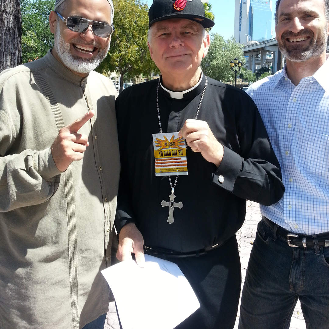 My Muslim and Catholic brothers