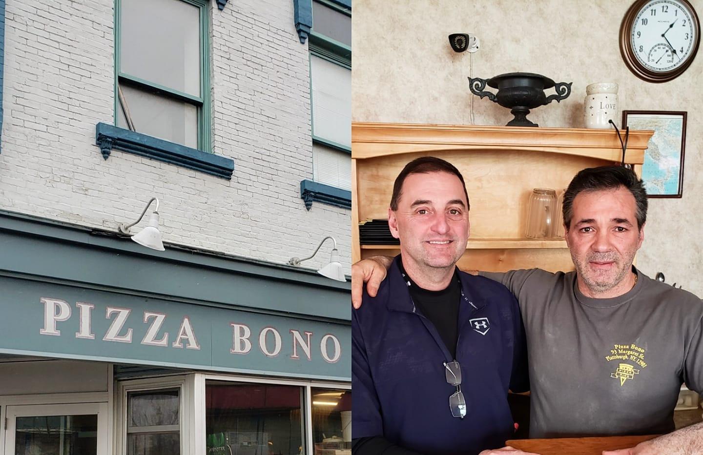 Scott at Pizza Bono