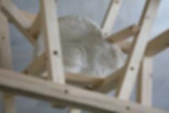 Daniele Accossato, Sculpture, contemporary art, eye, marble