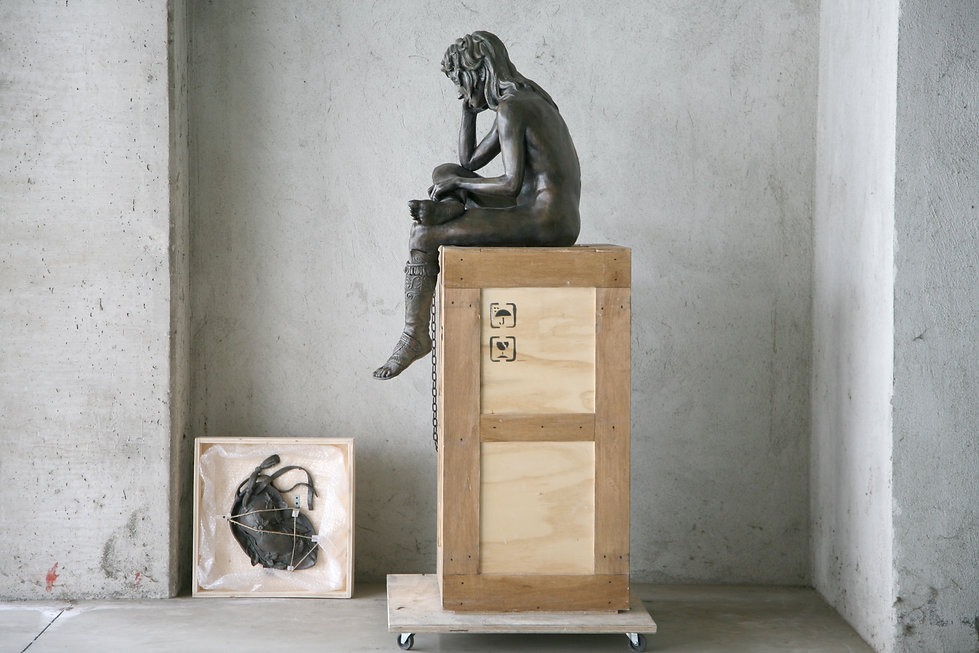 Daniele Accossato, sculpture, contemporary art, David