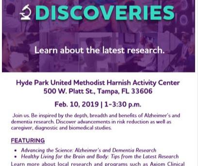 Alzheimer's Association Discoveries Program