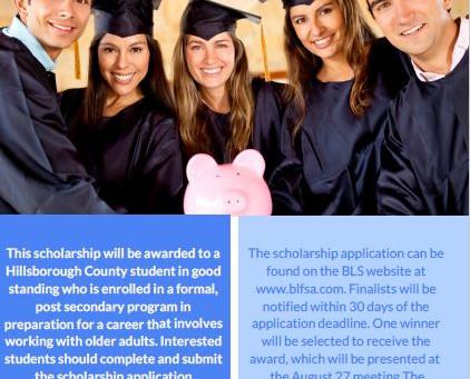 Scholarship Opportunity for Hillsborough County Student