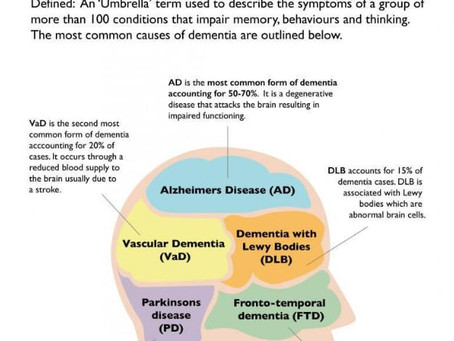 Alzheimer's vs. Dementia- Do you know the difference?
