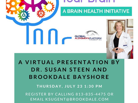 Activ-8 Your Brain with Dr. Susan Steen