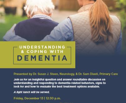 Understanding & Coping with Dementia
