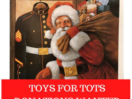 Toys for Tots Donation Drop Off