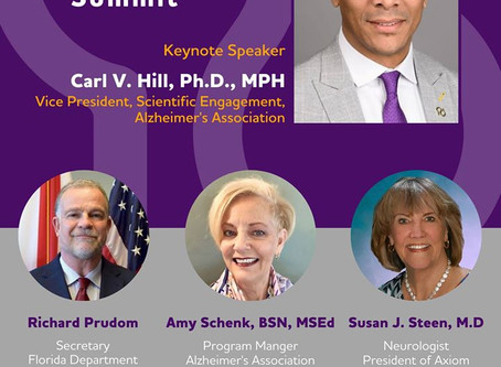 Dementia Research and Policy Summit- Featuring Dr. Susan Steen