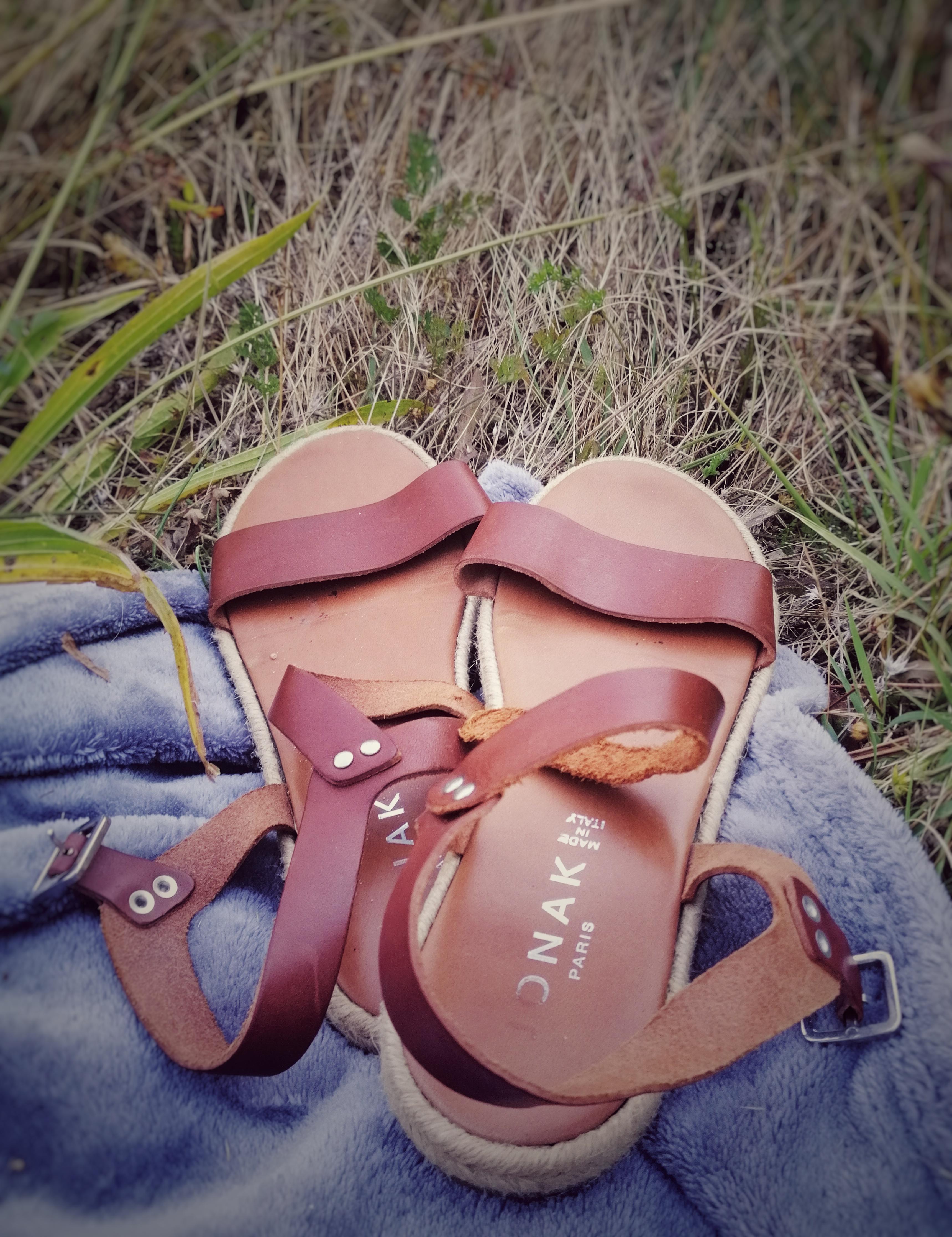 Sandales en cuir Jonak