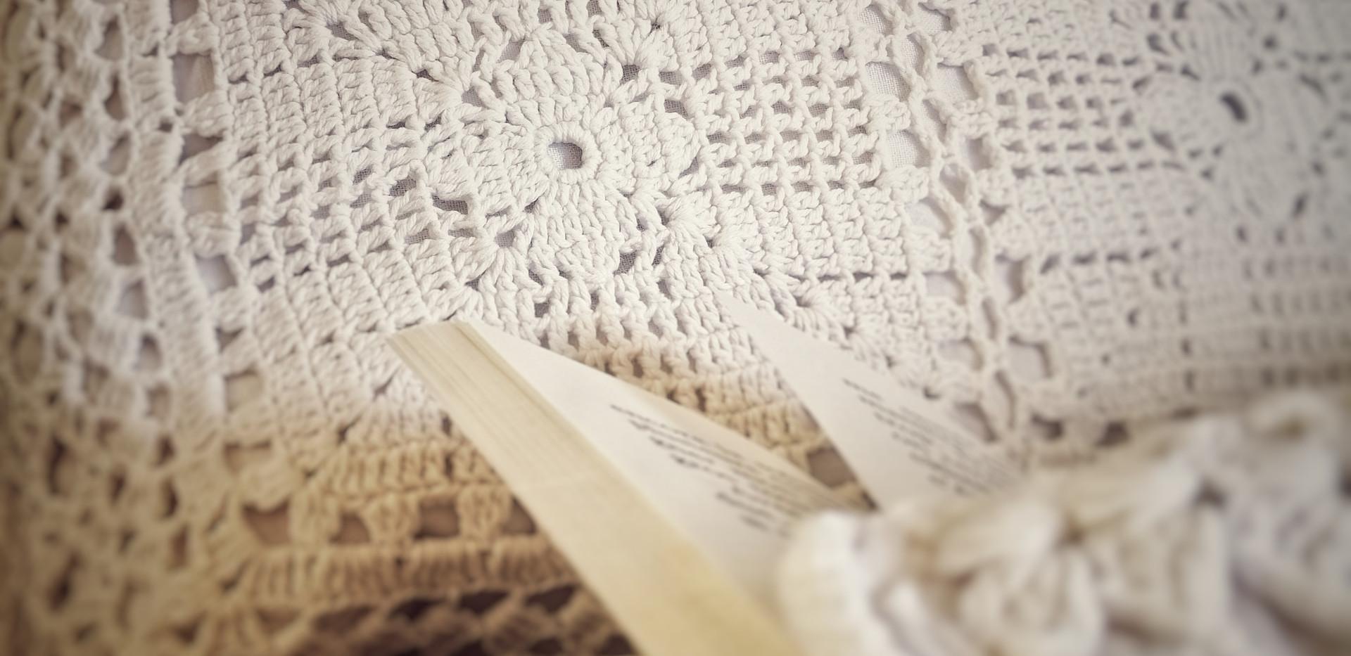 Coussins en crochet