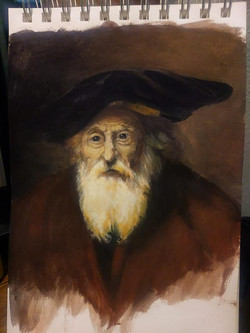 Rembrandt Color Study