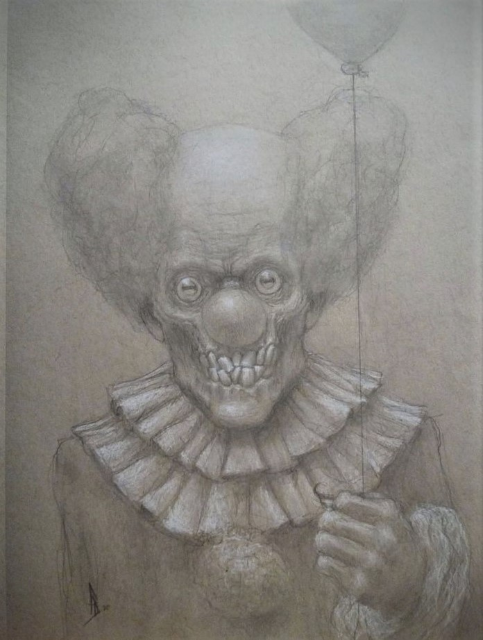 Clown Sketch 6 (2)