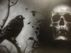 Raven & Skull Study