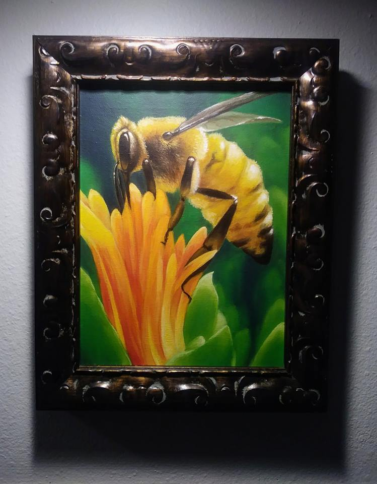 Honeybee Framed