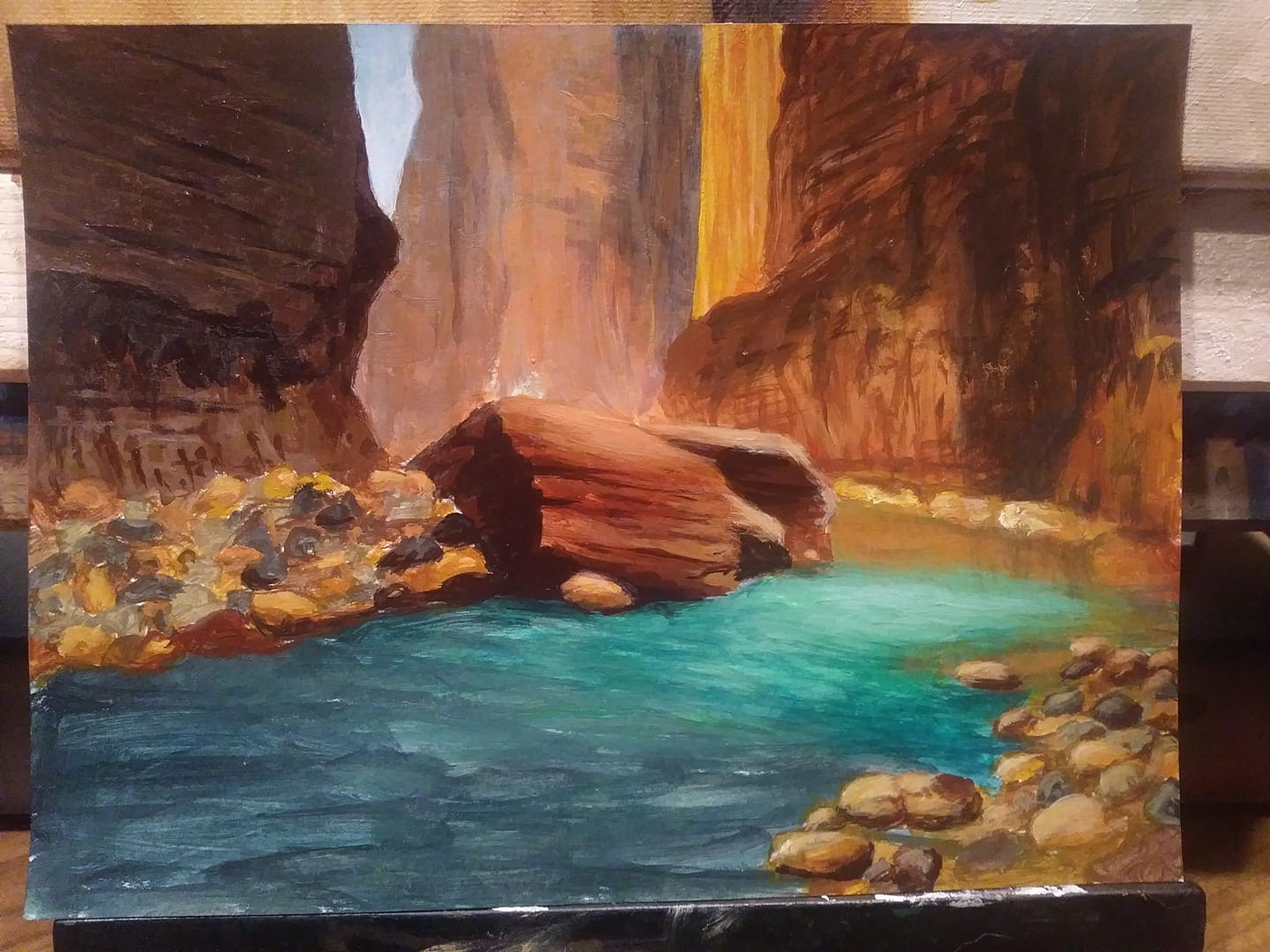 Zion Color Study