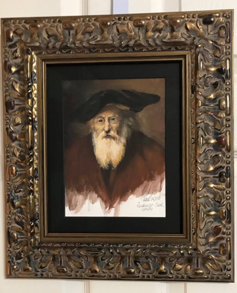 Rembrandt Color Study Framed