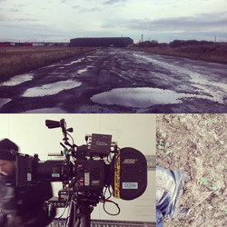 35mm Film Shoot in the Mud