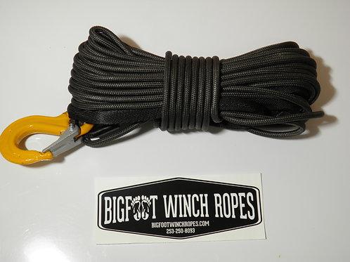 """Heavy Duty Dyneema 1/4""""x50' ATV/UTV/SxS Synthetic Winch Rope"""