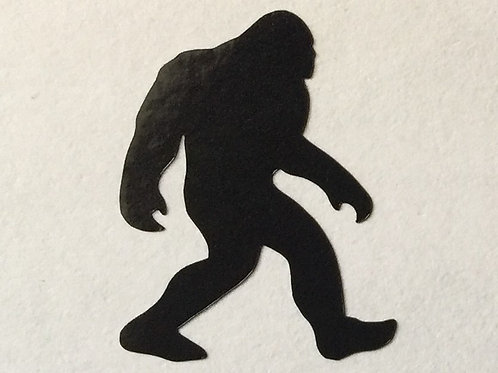 "1"" Bigfoot Sticker"
