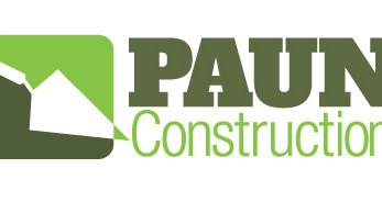 THANK YOU PAUN CONSTRUCTION!