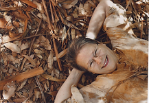 Trudi Portrait in leaves.png