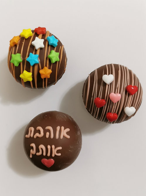 פצצות שוקולד
